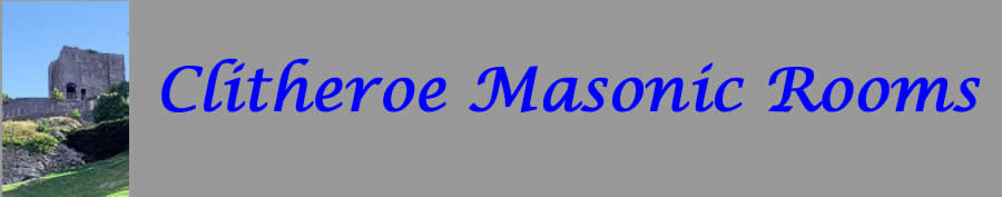 Welcome to the Clitheroe Masonic Rooms